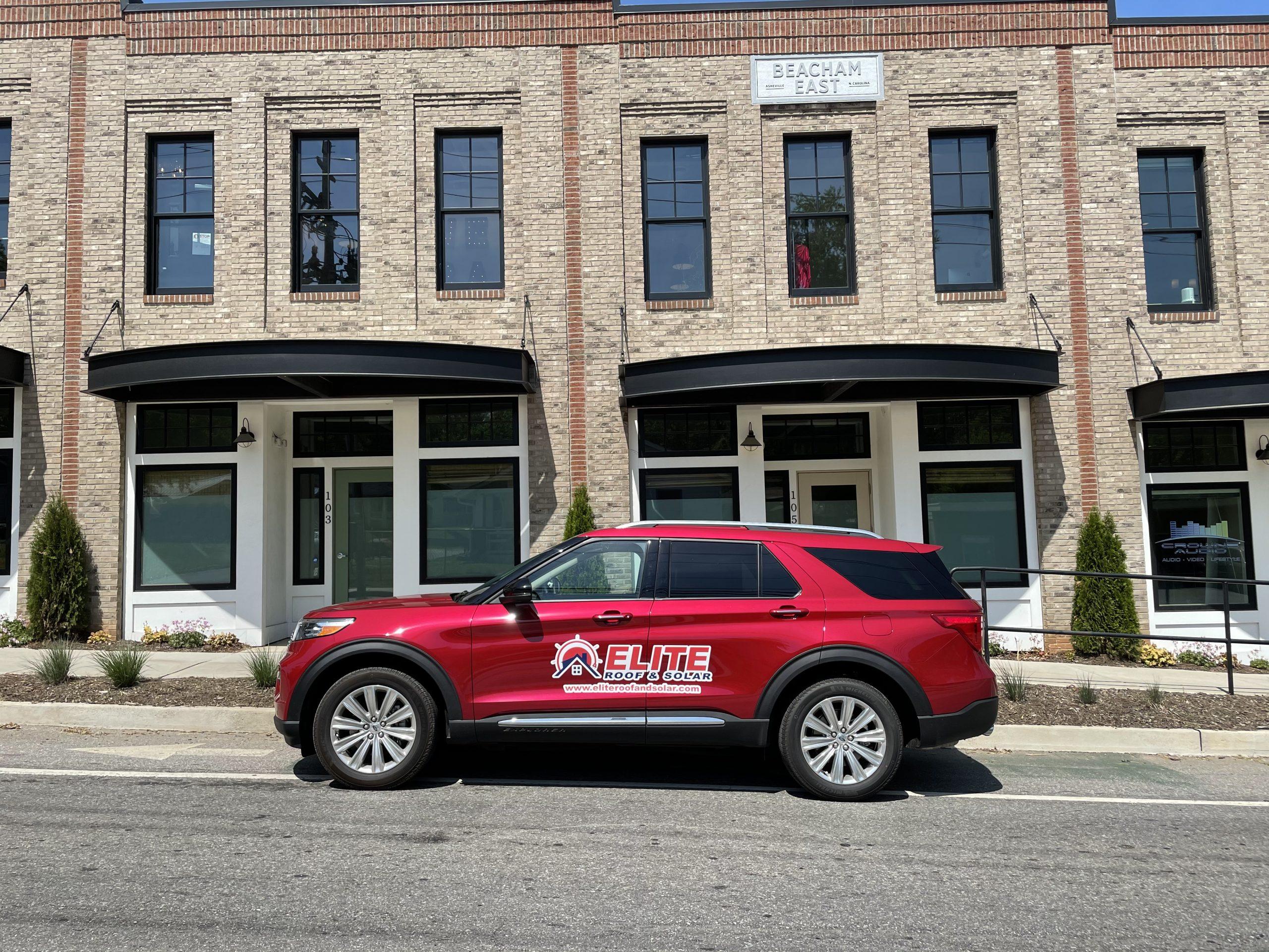 Elite Roofing Asheville Office